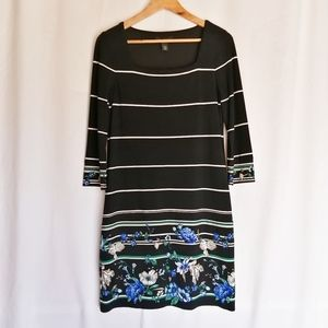 🦄3/$15 sale! WHBM Strechy Floral sheath dress